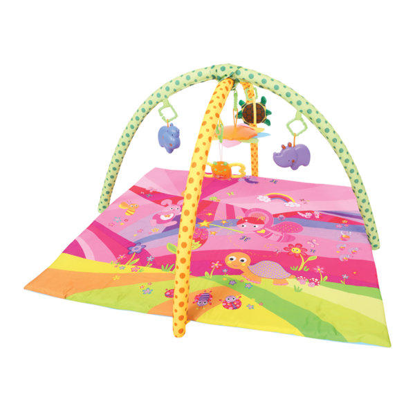 "Lorelli Toys Активна гимнастика - Тепих за игра ""ПРИКАЗКА"" Розов 1030032"